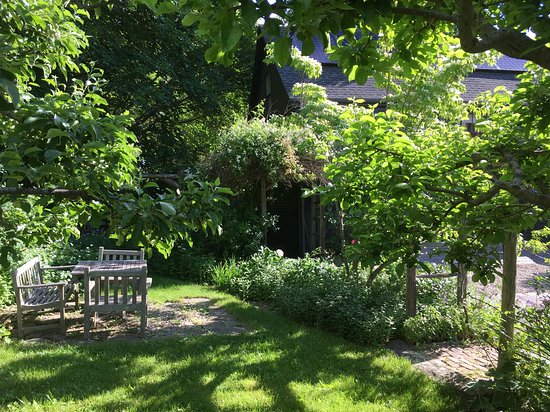 Wiscasset, ME: The Marston House B&B beautiful garden for our guests