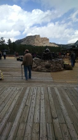 Medicine Bow, WY: crazy horse view
