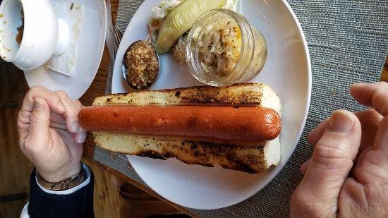 Harvest on Main: Hot Dog!