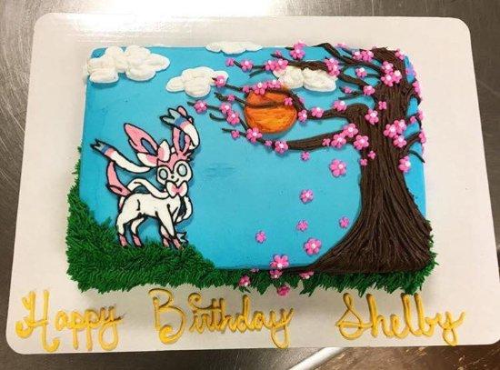 Larrys House Of Cakes Pokemon Cake