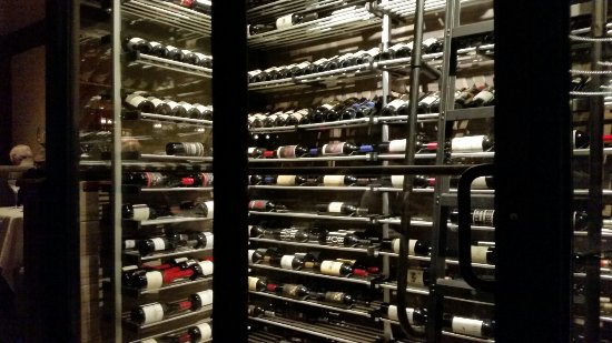 Wine Cellar Picture Of Fleming S Prime Steakhouse