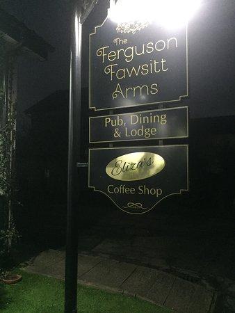 Walkington, UK: pub sign
