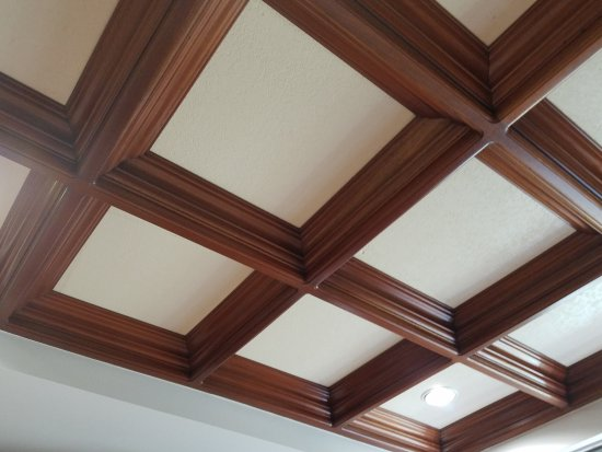 Grand Caribe Belize Resort and Condominiums: Ceiling in kitchen