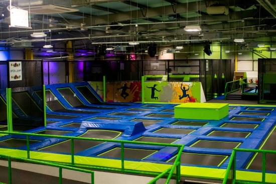 jump in parties picture of jump in trampoline park shrewsbury
