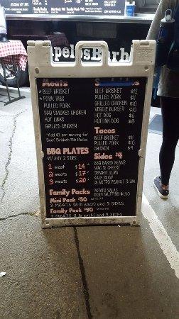 Friday Nights at OMCA: bbq menu