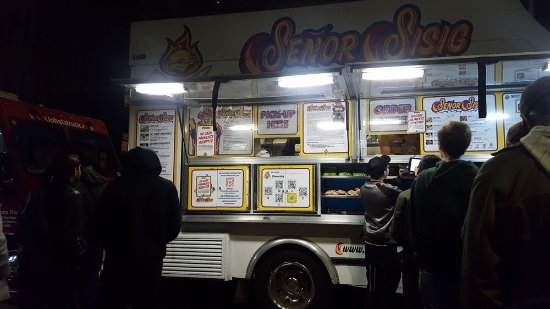 Friday Nights at OMCA: senor sisig - loved their pork burrito!!!