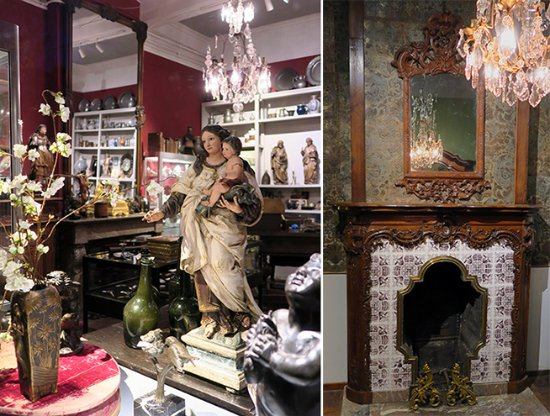Impressions of our antiques store in Maastricht - van Eyck Antiques