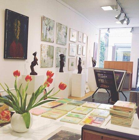 Kunsthaus Billerbeck - ein Blick in die Galerie