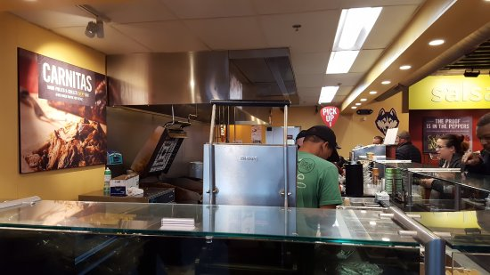 Moeu0027s Southwest Grill: Kitchen