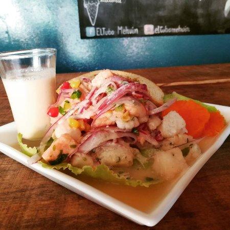 Mehuin, Chile: El mejor Ceviche está en EL TUBO, los esperamos!