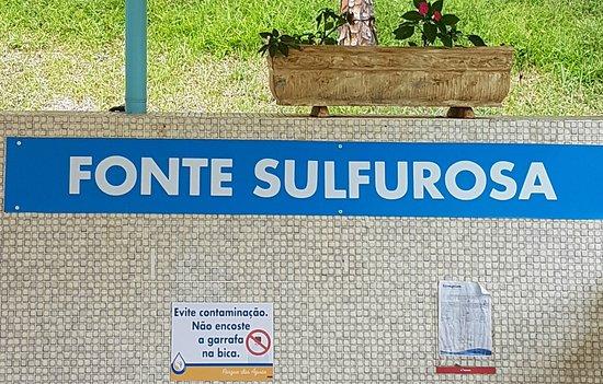 Cambuquira, MG: Fonte Sulfurosa