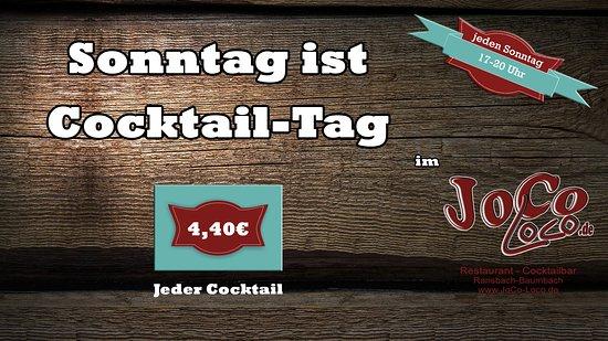 Ransbach-Baumbach, Tyskland: Sonntag ist Cocktail-Tag