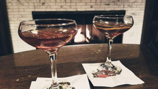 The Office Spiritorium: Sazerac by the Fire