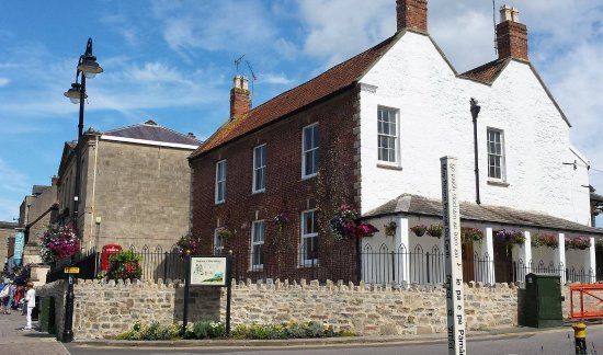 Pilgrim Reception in the Glastonbury Information Centre