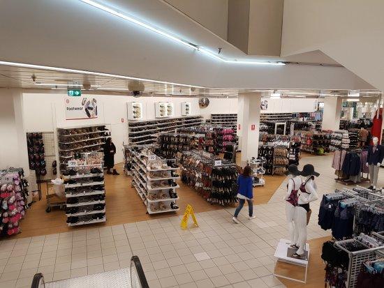 Target Centre Melbourne: Target Shoe Department for ladies