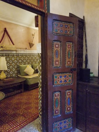 Riad Andalla : Main room and ante room