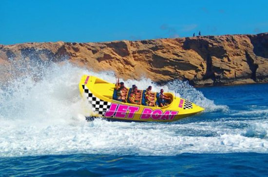 Jet Boat Ride in Southern Mallorca