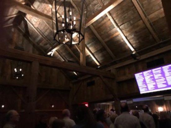 Wolf Trap National Park for the Performing Arts: Rustic Features in the Barns