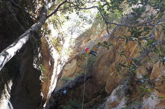 Juggler Canyon and Abseiling...