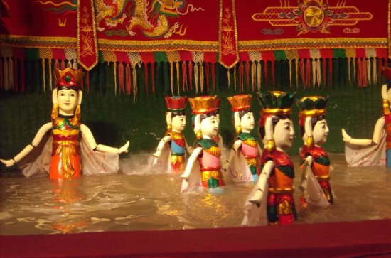 One Day Sightseeing Trang An Hoa Lu &Thang Long castle & Water Puppet...