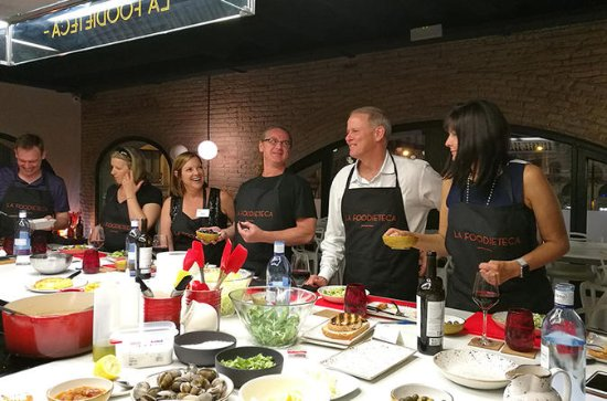 Market Tour & Spanish Cooking Class...
