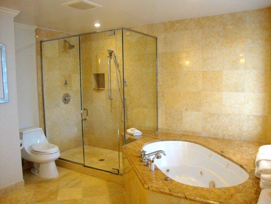 Capital Hilton: Master's bathroom