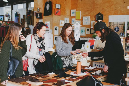 Fitzroy, Australia: Handmade leather goods