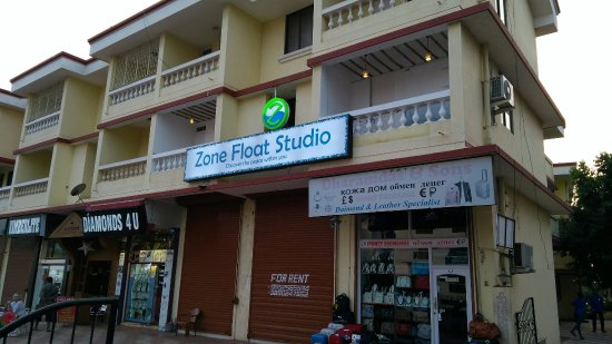 Cavelossim, Indien: Zone Float Studio