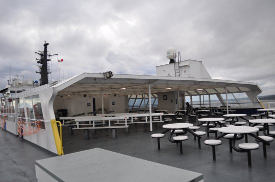 Nanaimo, Canada: Outside seating