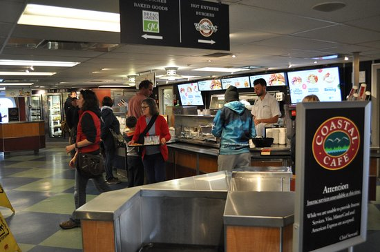 Nanaimo, Canadá: Cafe on board
