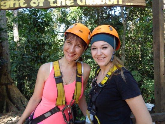 Flight of the Gibbon : Я и моя подруга Инна