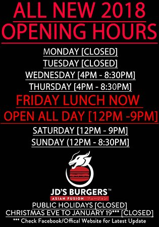 Mont Albert, Australien: 2018 ALL NEW HOURS inc. Friday Lunches NOW OPEN!