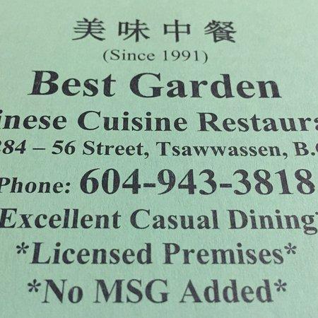 Best Garden Restaurant