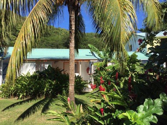 Fleurs des Iles : Территория