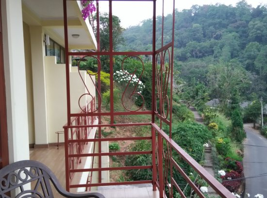 Nature Walk Resort: This is the photo from the balcony outside our room.