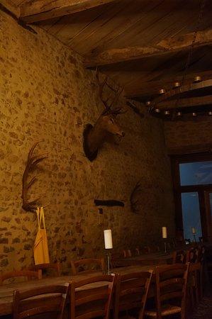 Villefranche-du-Perigord, France: décoration