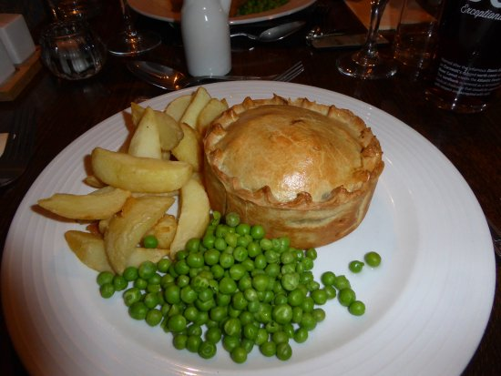 Staunton on Wye, UK: The legendary Steak and Ale Pie.