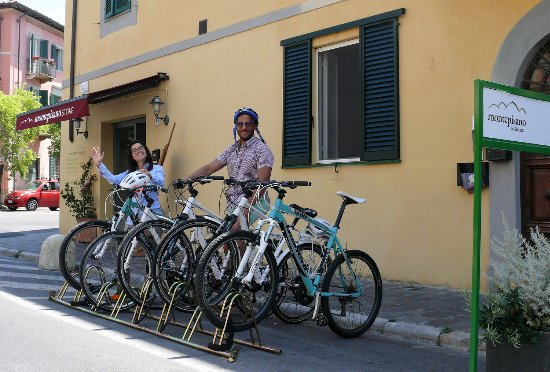 San Giuliano Terme, Italy: Noleggio Biciclette, E-Bike e Mountain Bike