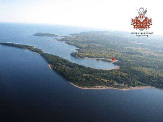 Skutskar, السويد: Property Sågarbo herrgård stuguthyrning, sea view 
