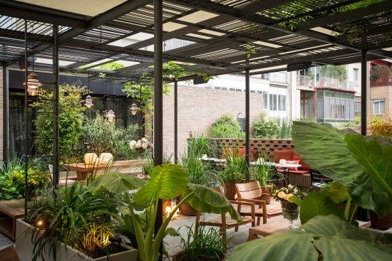 Terraza Patio Picture Of Solomillo Restaurant Barcelona