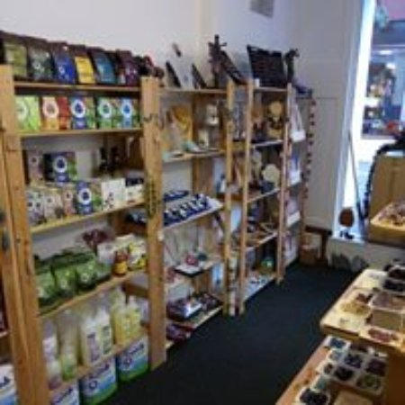 Ethical Gift Shop: view of inside
