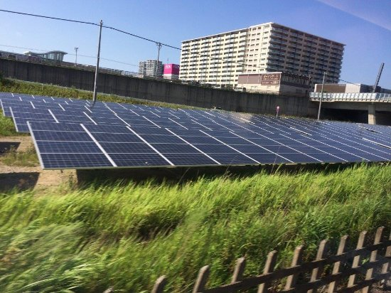 Chiba New Town Mega Solar Power Station