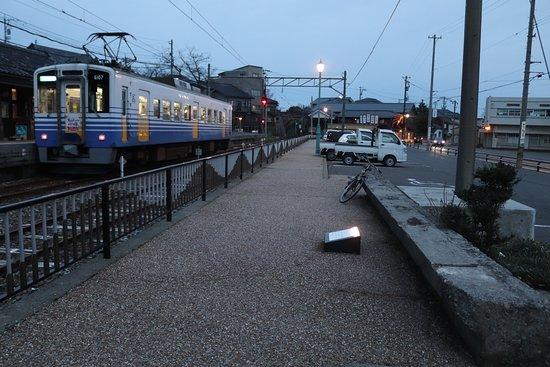 Remains of Kokutetsu Shisen Mikuni Station Platform