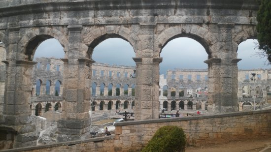 L'Arena a Pula: Амфитеатр