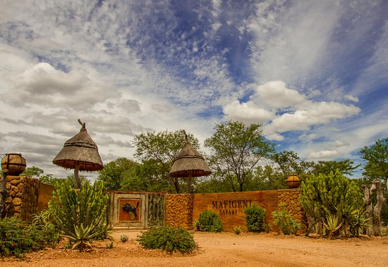 Mafigeni Safari Lodge: Entrance to Mafigeni Safari