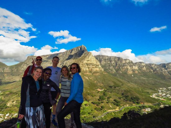 Woodstock, Sør-Afrika: What a wonderful day to hike up Lion's Head!