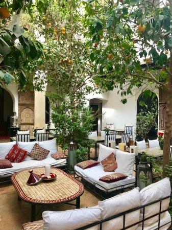 Riad Karmela: Lounge