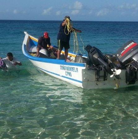 Острова Лос-Тестигос, Венесуэла: Llegada a Isla Los Testigos