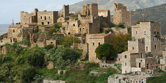 Vathia, اليونان: Βάθεια
