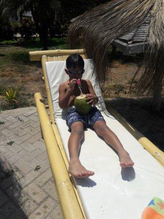 Zorritos, Peru: Gracias por los cocos!!